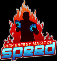 High Energy Magic of Speed Logo